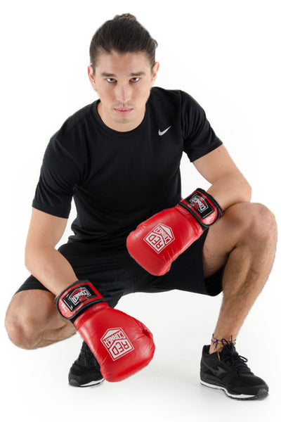 Fight Mens Boxing Glove - Red