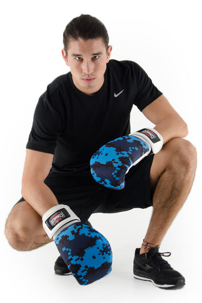 Silver Label Mens Boxing Glove - Digi Camo