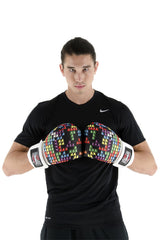 Silver Label Mens Boxing Glove - Tetris