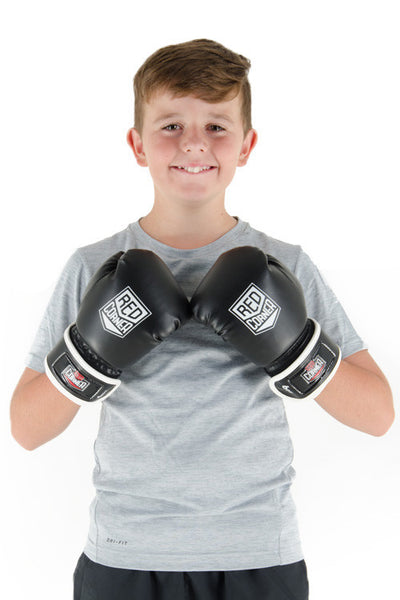 Spar Jnr Boxing Glove - Black