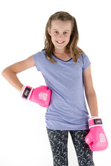 Spar Jnr Focus Kit with Boxing Gloves - Pink