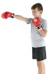 Spar Jnr Focus Kit with Boxing Gloves - Red