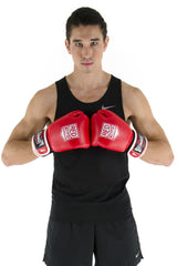 Spar Mens Boxing Glove - Red
