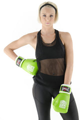 Spar Womens Boxing Glove - Lime