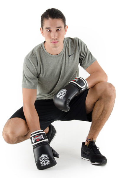 Spar Mens Punch Mitt - Black
