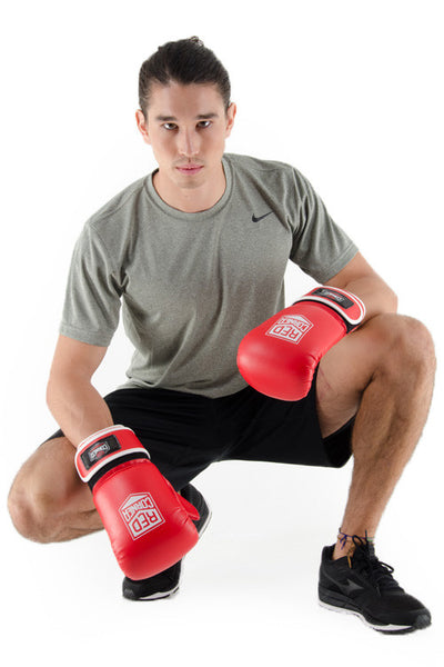 Spar Mens Punch Mitt - Red