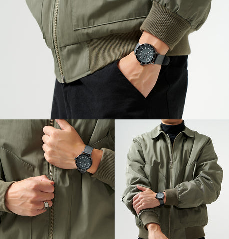 The 5TH Watches Khaki Colour With Sierra Watch