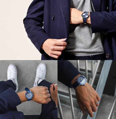 The 5TH watches blue styling