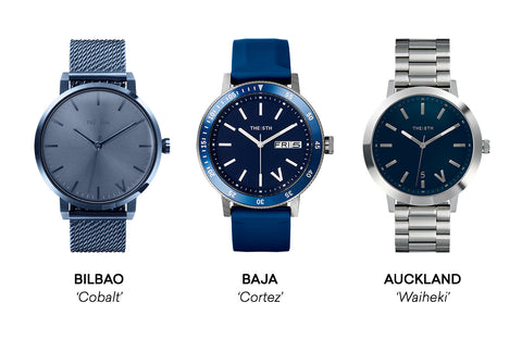 The 5TH Watches Blue