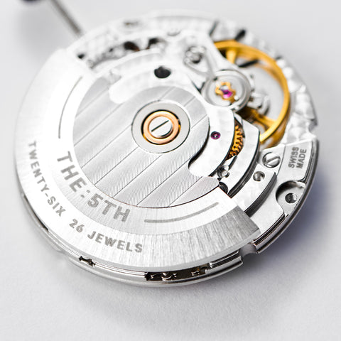 The 5TH Swiss Made Watches Movement