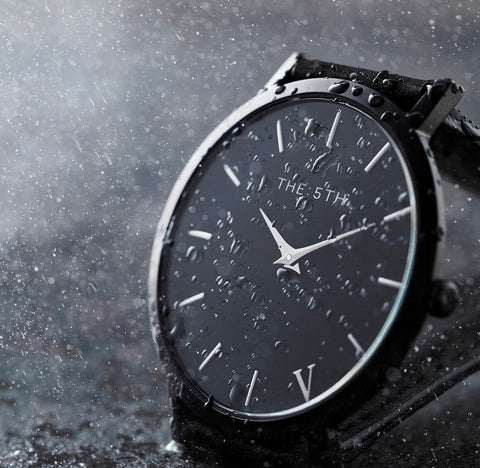 The 5TH Watches Water Resistant