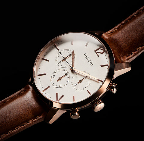 The 5TH Watches Chronograph Function