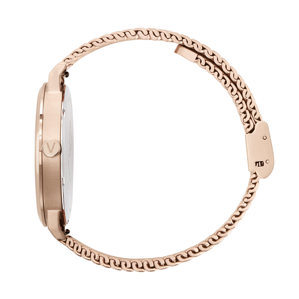 pink gold rose gold womens watch