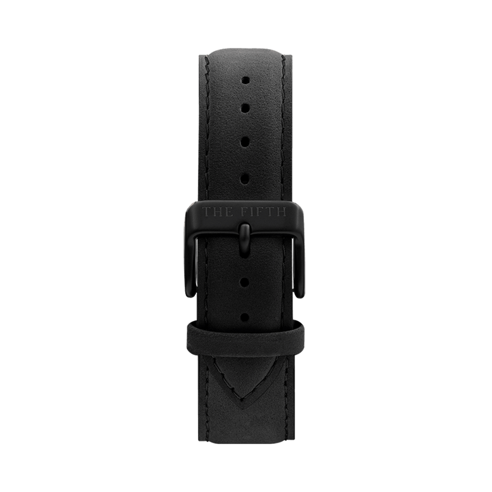 black leather watch strap the5th