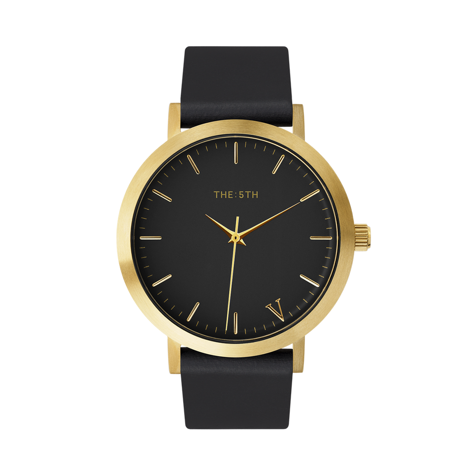 black and gold watch mens the5th