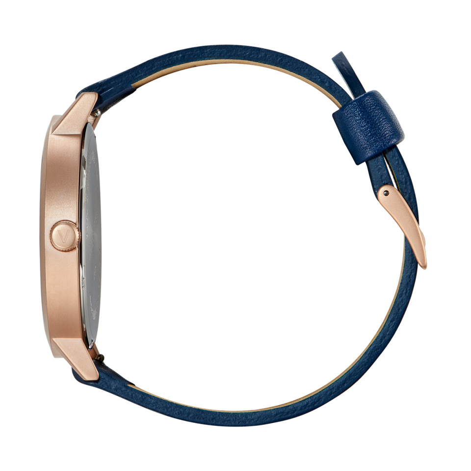 Rose Gold & Navy 38mm