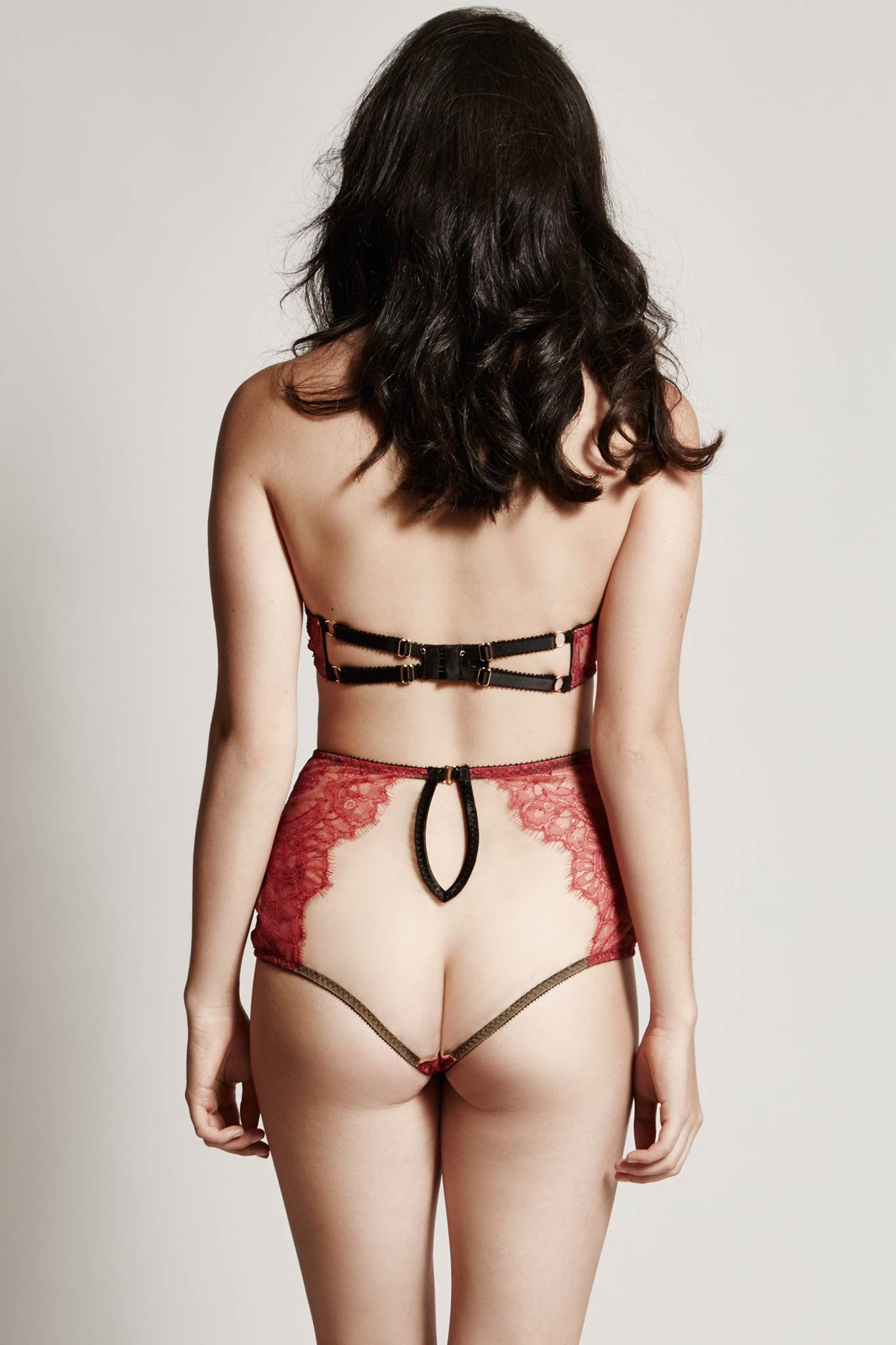 Elise High Waist Brief