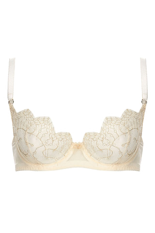 Evie Bra in Buttercream