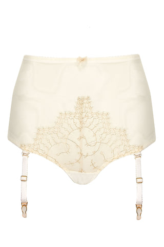 Evie High Waist Brief in Buttercream