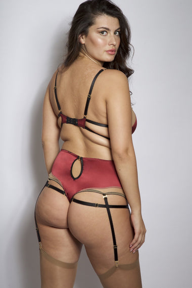 Georgia High Waist Thong Edge o' Beyond