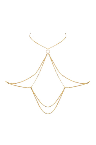 Edge o' Beyond's 18k Gold Plated Jewellery. James Plus necklace chain looks perfect with all our lingerie ranges