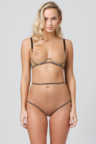 Edge o' Beyond Marinette Illusion High Waist Brief