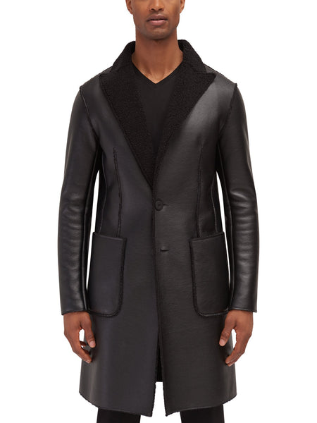 Gundy Vegan Shearling Jacket