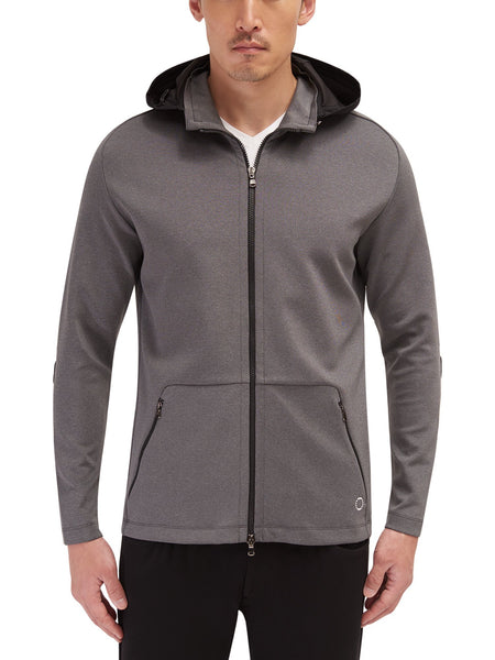 Stanley Hooded Zip Front
