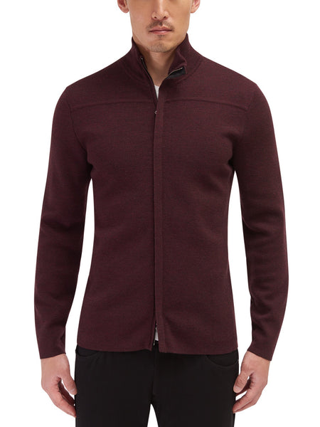Cavalier Zip Front Sweater