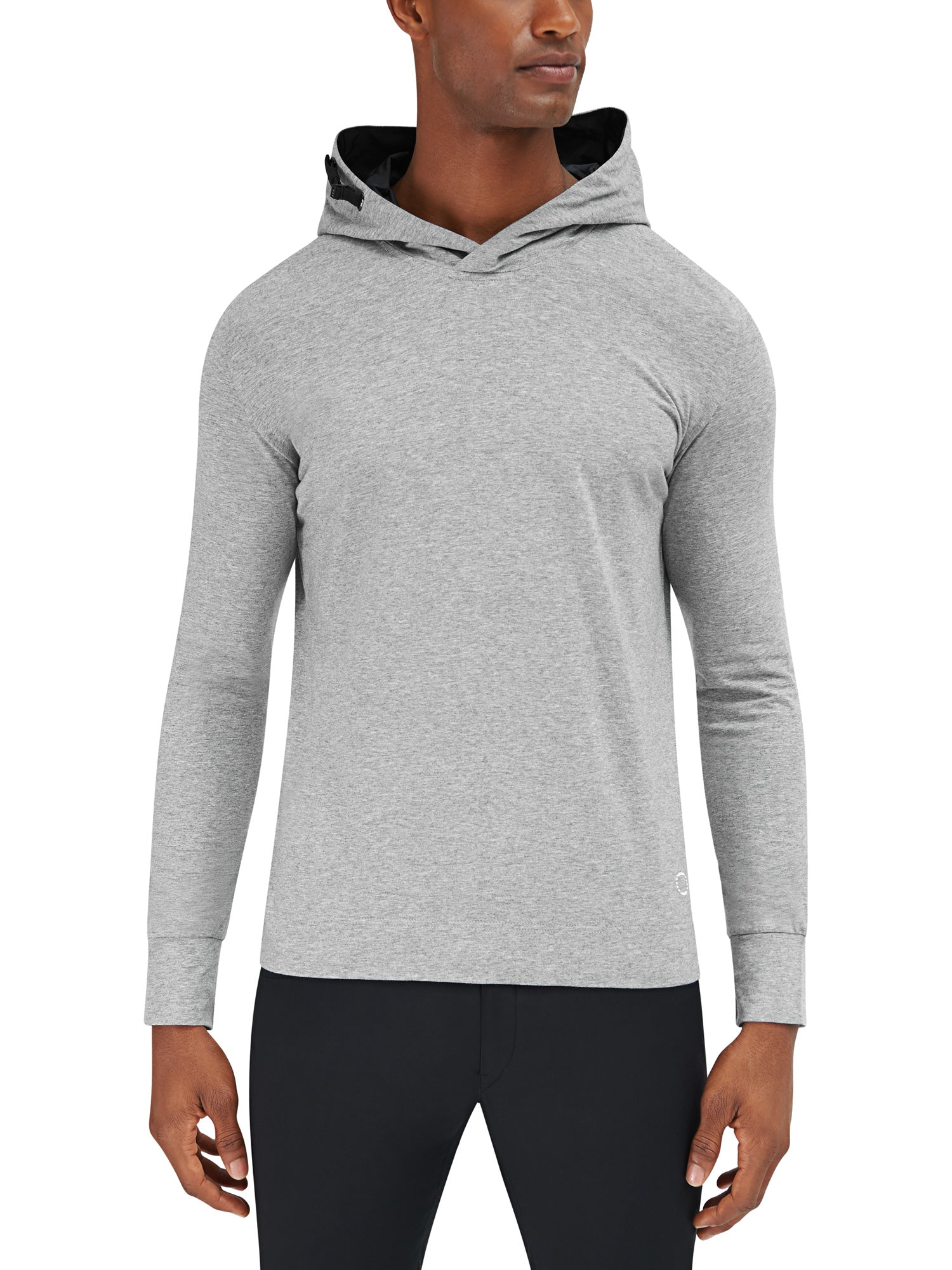 Native Hooded Pullover - Grey Heather