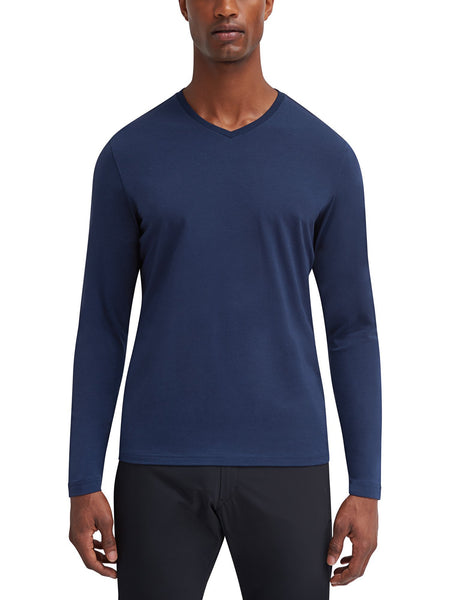 Trekker L/S V-Neck Color Block T-Shirt