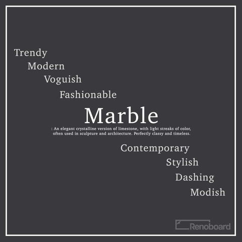 Marble, trendy, modern, fashionable, contemporary, stylish