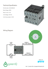 GreenIQ Lighting Control Relay (GIQ-0038-02)