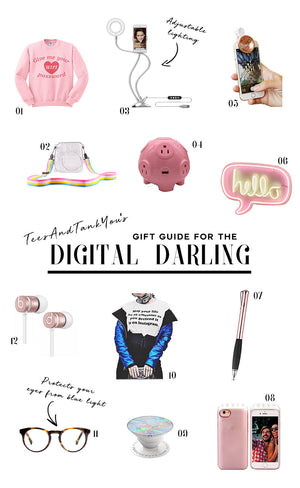 Gift Guide for the Digital Darling
