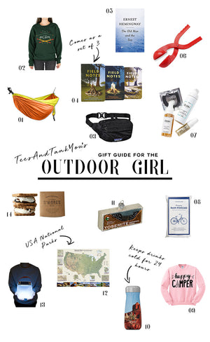 Gift Guide for the Outdoor Girl