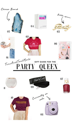 Gift Guide for the Party Queen