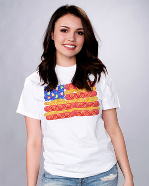 Cookout Food Flag Shirt - Femfetti