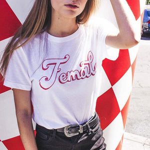 Female Shirt - Femfetti