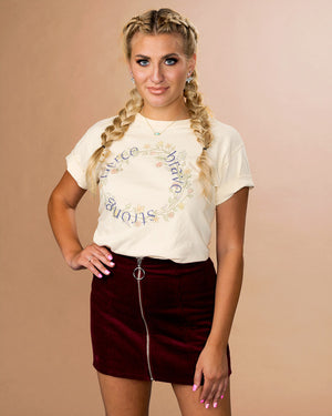 Fierce Brave Strong Shirt - Femfetti