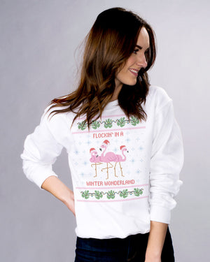 Flocking In A Wonderland Sweatshirt - Femfetti