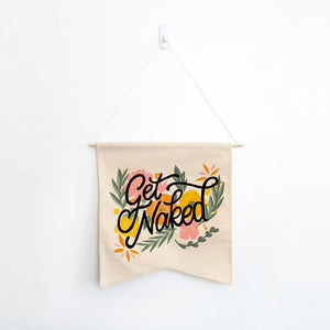 Get Naked Wall Hang - Femfetti