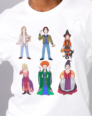 Hocus Pocus Characters Shirt