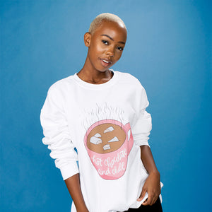 Hot Chocolate and Chill Crewneck Sweatshirt - Femfetti