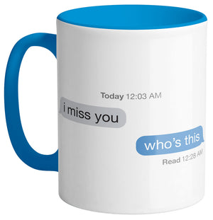 I Miss You Text Mug - Femfetti