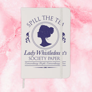Spill The Tea Lady Whistledown Journal