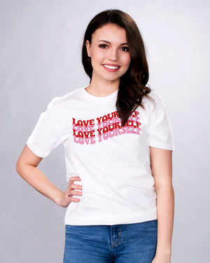 Love Yourself Shirt - Femfetti