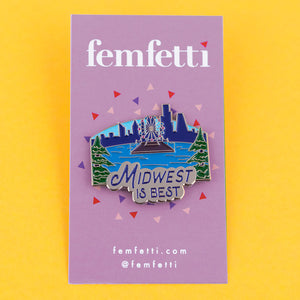 Travel Trio Enamel Pins - Femfetti