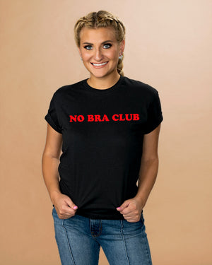 No Bra Club Shirt - Femfetti