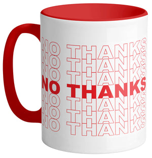 No Thanks Mug - Femfetti