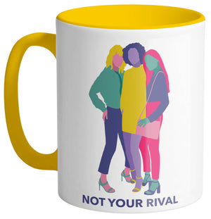 Not Your Rival Mug - Femfetti